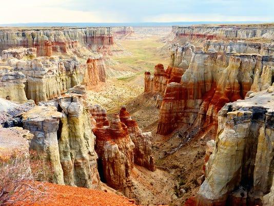 Hopi mesas to Canyon de Chelly