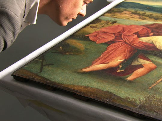 """An art expert get nosy about a 16th-century masterpiece in """"Hieronymus Bosch, Touched by the Devil,"""" which screens Saturday at the Memphis Brooks Museum of Art."""