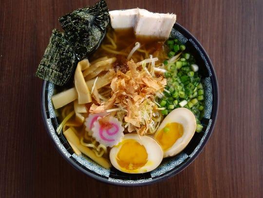 Shoyu ramen at Hot Noodles, Cold Sake. | Details: $9