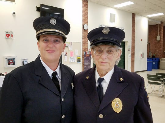 Barbara Fudge and daughter, Heidi, joined the Erin Volunteer Fire Department together almost 20 years ago.