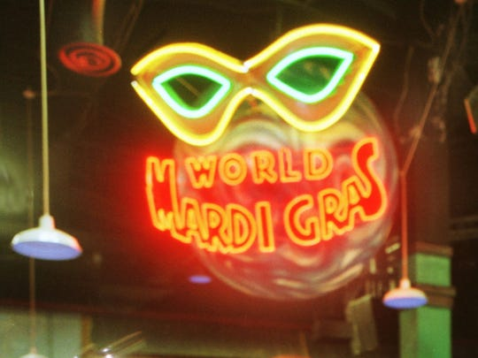 World Mardi Gras presented concerts at Circle Centre mall from 1995 to 2004.