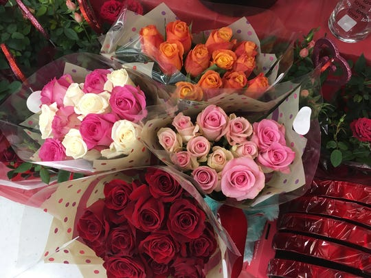 Valentine roses prices range from $12.99 to more than $100 this year.
