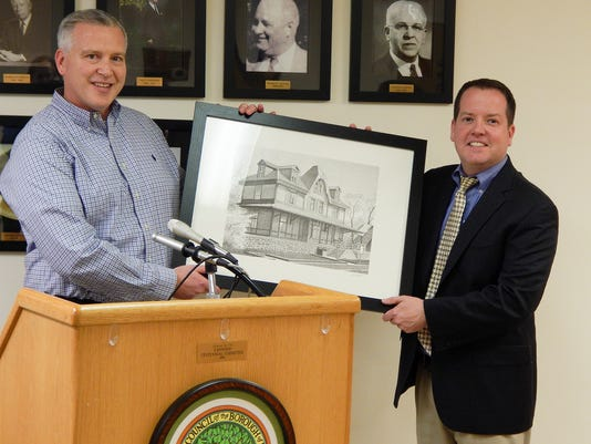Fanwood Council honored community members