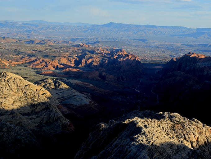 Snow Canyon Overlook Trail.