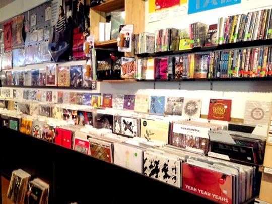 Stinkweeds record store in Phoenix.