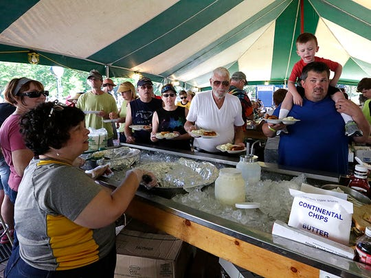 People of all ages take part in food, music and other activities during Fond du Lac's 2017 Walleye Weekend Festival in Lakeside Park. The festival took place on June 9, 10 and 11. Doug Raflik/USA TODAY NETWORK-Wisconsin