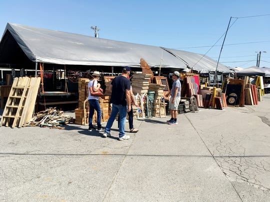 It is Nashville Flea Market weekend at The Fairgrounds Nashville, and the theme is April Bash.