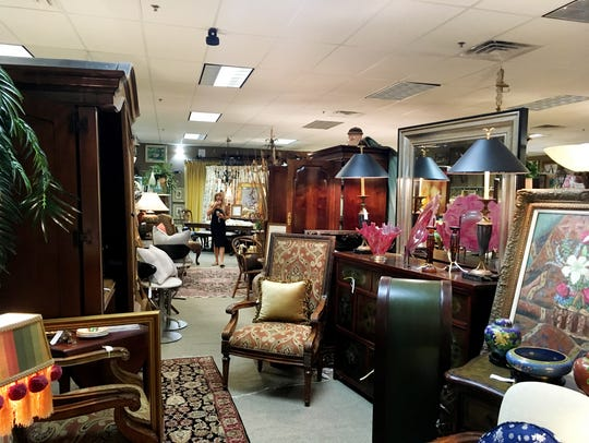 English & Company home furnishings consignment shop