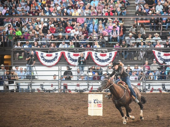 The Big Sky Pro Rodeo at the Montana ExpoPark grandstand