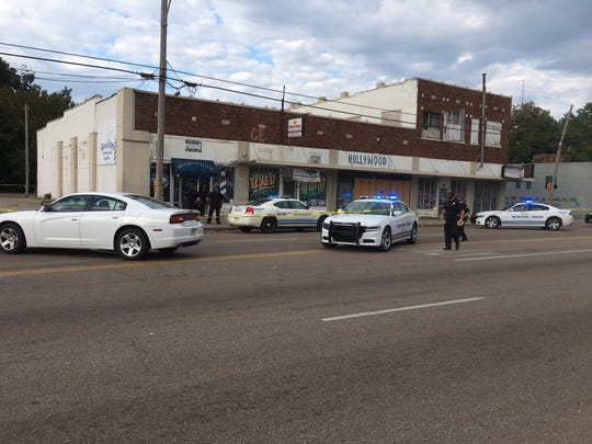 City police are investigating after four people were shot Tuesday afternoon in northern Memphis.