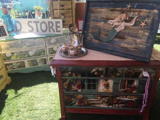 Over 100 vendors sell unique vintage, recycled and shabby chic items during the Front Porch Pickens Vintage and Handmade Market.