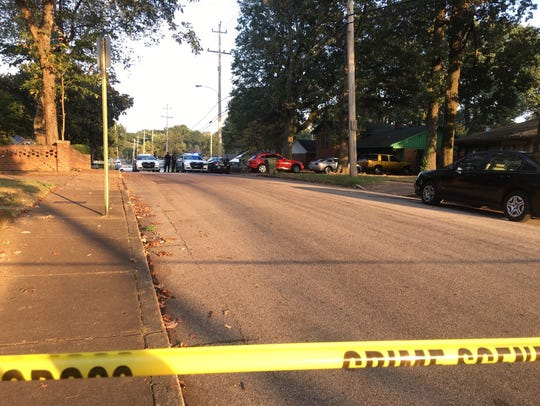 A man was taken to the hospital in critical condition