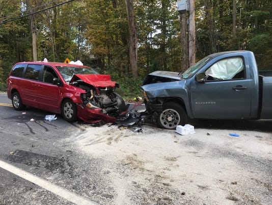 Crash on Lake Tonetta Road