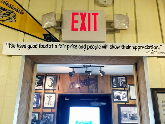 Gabby's owner Doug Havron says he values these wise