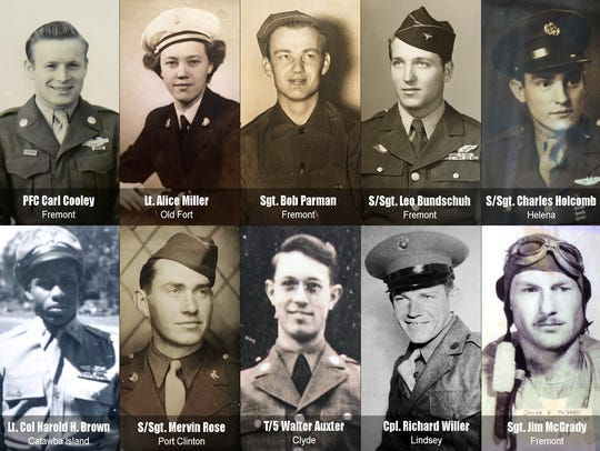 """The one hour documentary """"WWII: In Their Own Words"""""""