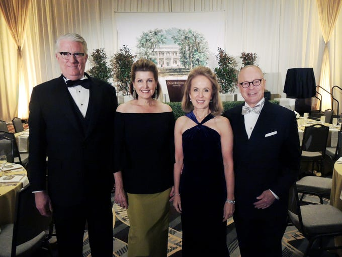 The Hermitage Gala co-chairs Laura Niewold, second