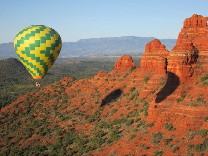 Northern Light Balloon Expeditions was Sedona's first