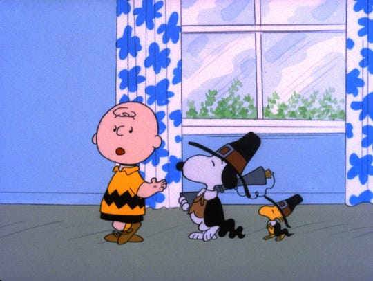 """A Charlie Brown Thanksgiving"" is a great movie to"