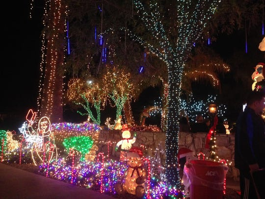 Lee and Patricia Sepanek decorated their Phoenix-area