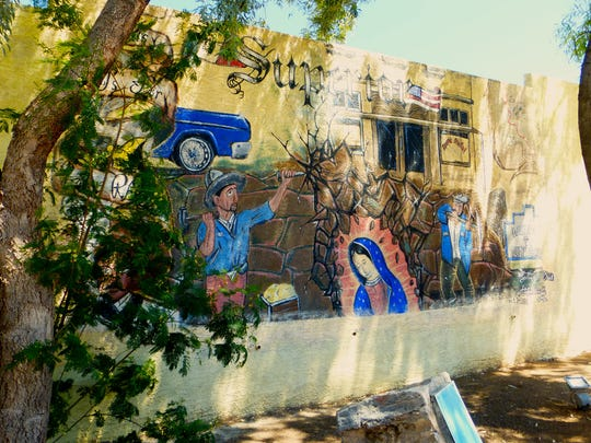 Historic buildings are being restored and fresh murals added throughout Superior.