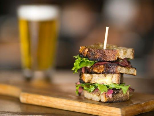 Beef Heart Sandwich at Evo.