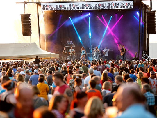 Music festivals are a big draw during the summer months in Wisconsin.