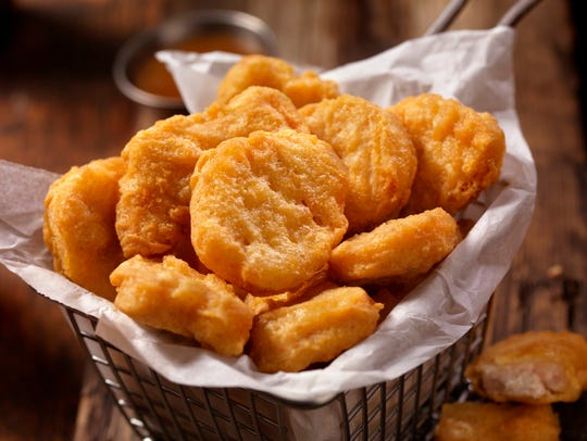 Chicken nuggets, a childhood and fast food staple,