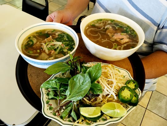 The Pho at Kien Giang is one of the most popular dishes.
