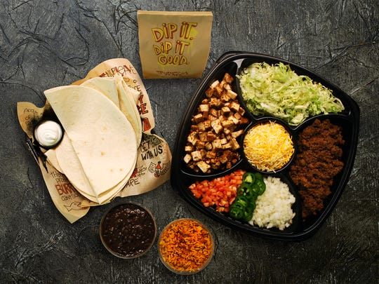 """Tijuana Flats, the fast-casual Tex-Mex restaurant chain, has launched a take-home meal kit, """"Hardly Homemade Burrito Kit."""""""