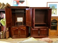 Tell Ms. Cheap your best ideas for repurposing an old entertainment center