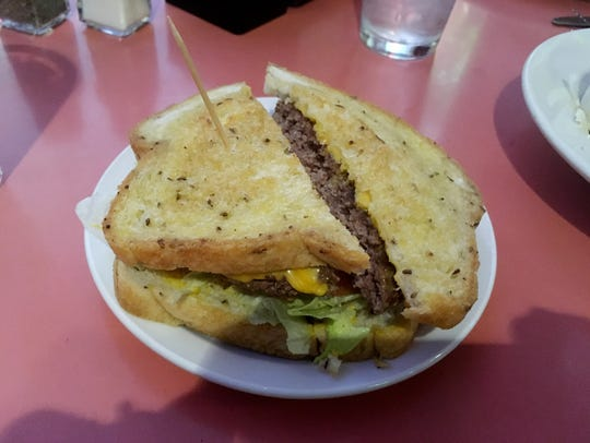 The grilled cheeseburger is a longtime favorite at Rotier's.