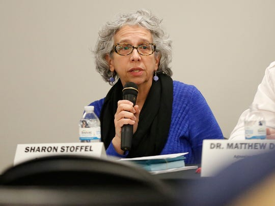 Sharon Stoffel was part of a panel that talked about
