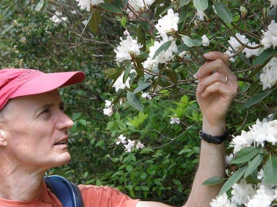 "Hiking expert Jim Parham has just published ""Wildflower"