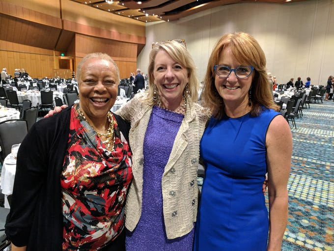 Beverly Watts, Christie Wilson and Hannah Paramore
