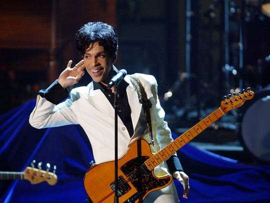 Prince, 2004 in New York City for Rock and Roll Hall