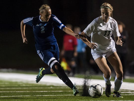 Girls' soccer teams from both Great Falls High and
