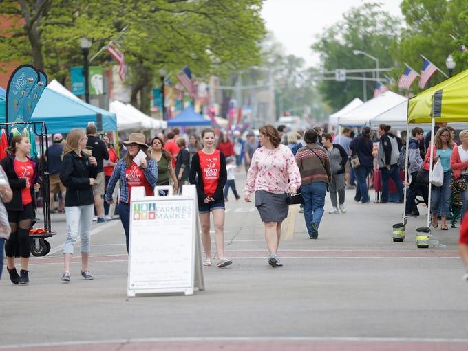 Fond du Lac Farmers Market Saturday May 19, 2018 on