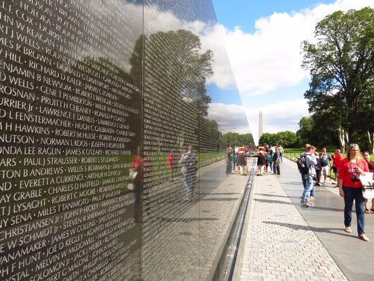 20. Vietnam War Veterans Memorial, Washington, D.C.
