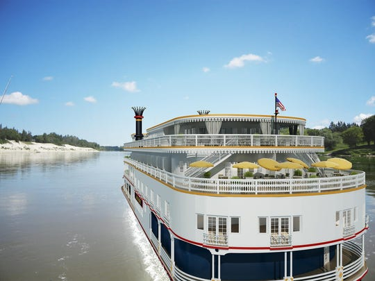 A promotional illustration of the exterior of the New Orleans-based riverboat, Lousiane. Passengers, including two Arizona couples, say their trips were canceled last minute and the company didn't refund them. French America Line and Uncommon Journeys said the trips were canceled because of events beyond their control.