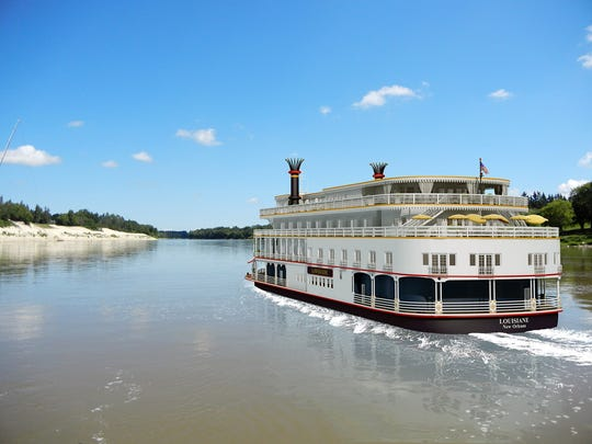 A promotional illustration of the exterior of the New Orleans-based river boat, Lousiane. Passengers, including two Arizona couples, say their trips were canceled last minute and the company didn't refund them. French America Line and Uncommon Journeys said the trips were canceled because of events beyond their control.