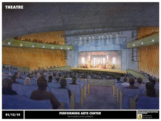 SDSU Performing Arts Center Rendering