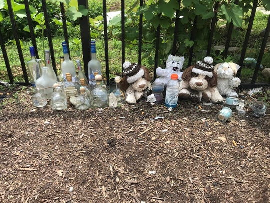 A second memorial in honor of the 16-year-old boy fatally