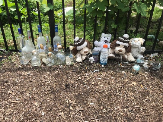 A second memorial in honor of the 16-year-old boy fatally shot in Wilmington marked the shooting.