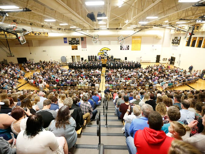 Waupun High School held it's 2018 commencement ceremony