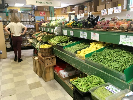 The Produce Place is full of fresh local produce.