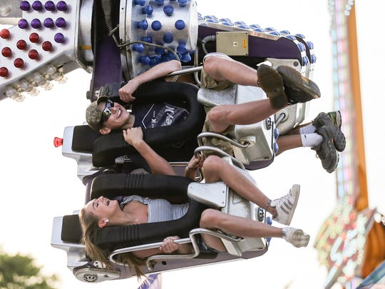 People enjoyed food, rides, animals and bands at the 2018 Fond du Lac County Fair.