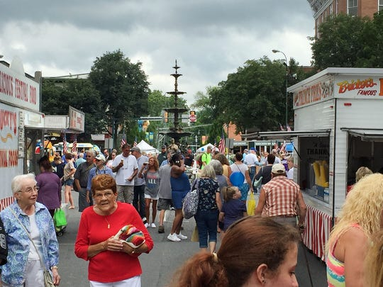 Old Market Day was held in Downtown Chambersburg on