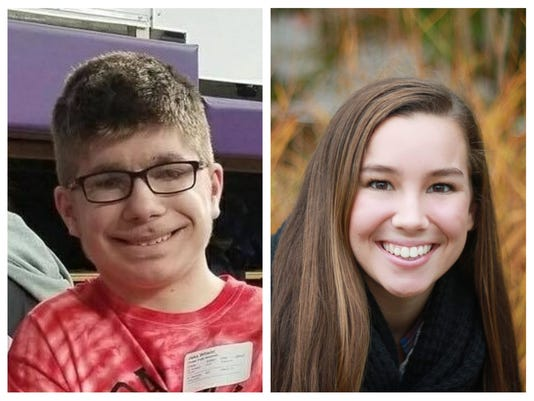 Jake Wilson and Mollie Tibbetts