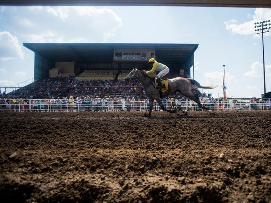The State Fair Race meet wraps up its two-weekend run on Sunday. Performances are scheduled for Friday and Saturday, as well.