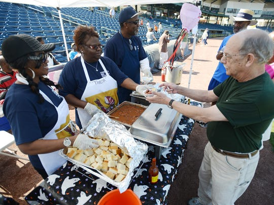 The annual Red Beans & Rice Festival benefits Stewpot Community Services.